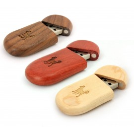 USB kľúč WOOD 8GB