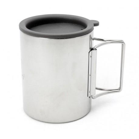 Kempingový pohár s vekom 300ml
