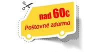 Poštovné zdarma nad 60€